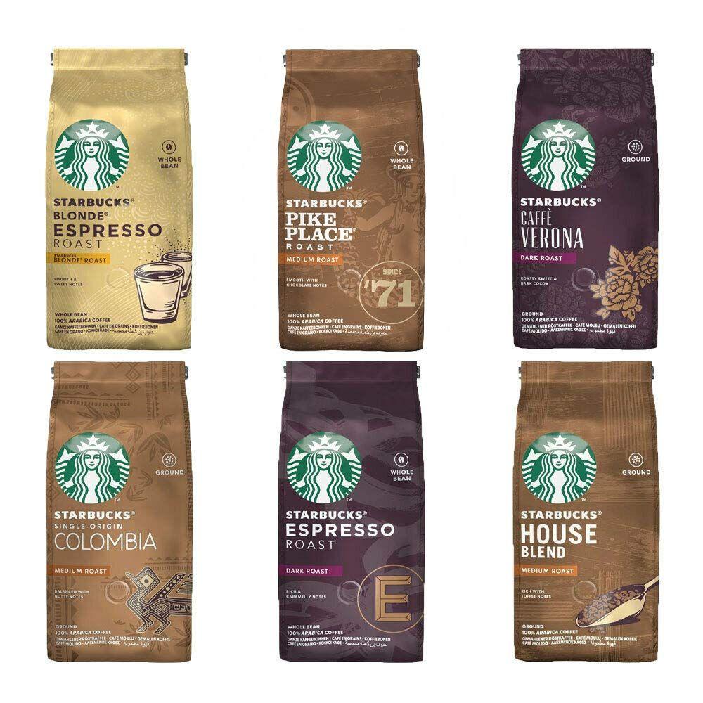 Starbucks Coffee Beans Ground Filter Cof Buy Online In Kuwait At Desertcart Starbucks Coffee Beans Roasted Coffee Beans Coffee Roasting