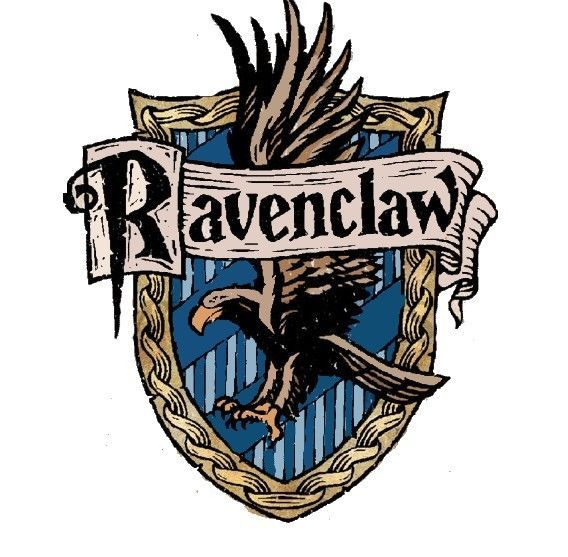 Crête de la maison Serdaigle et devise, Harry Potter ...