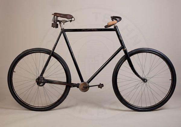 Columbia modelo 59, bici con cardan de 1899.