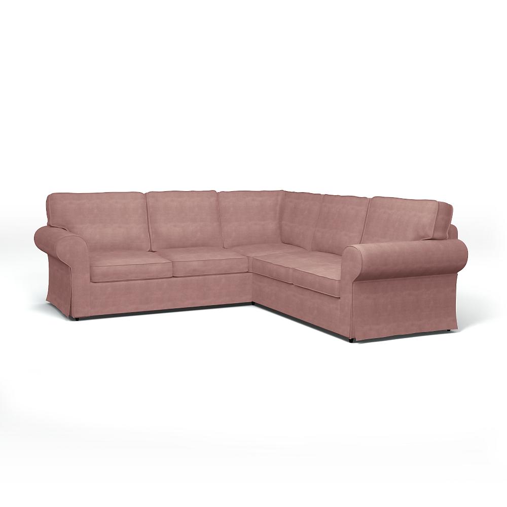 Ikea Ektorp Corner Sofa Cover With Piping Bemz Bemz Corner Sofa Covers Sofa Covers Ikea Ektorp Cover