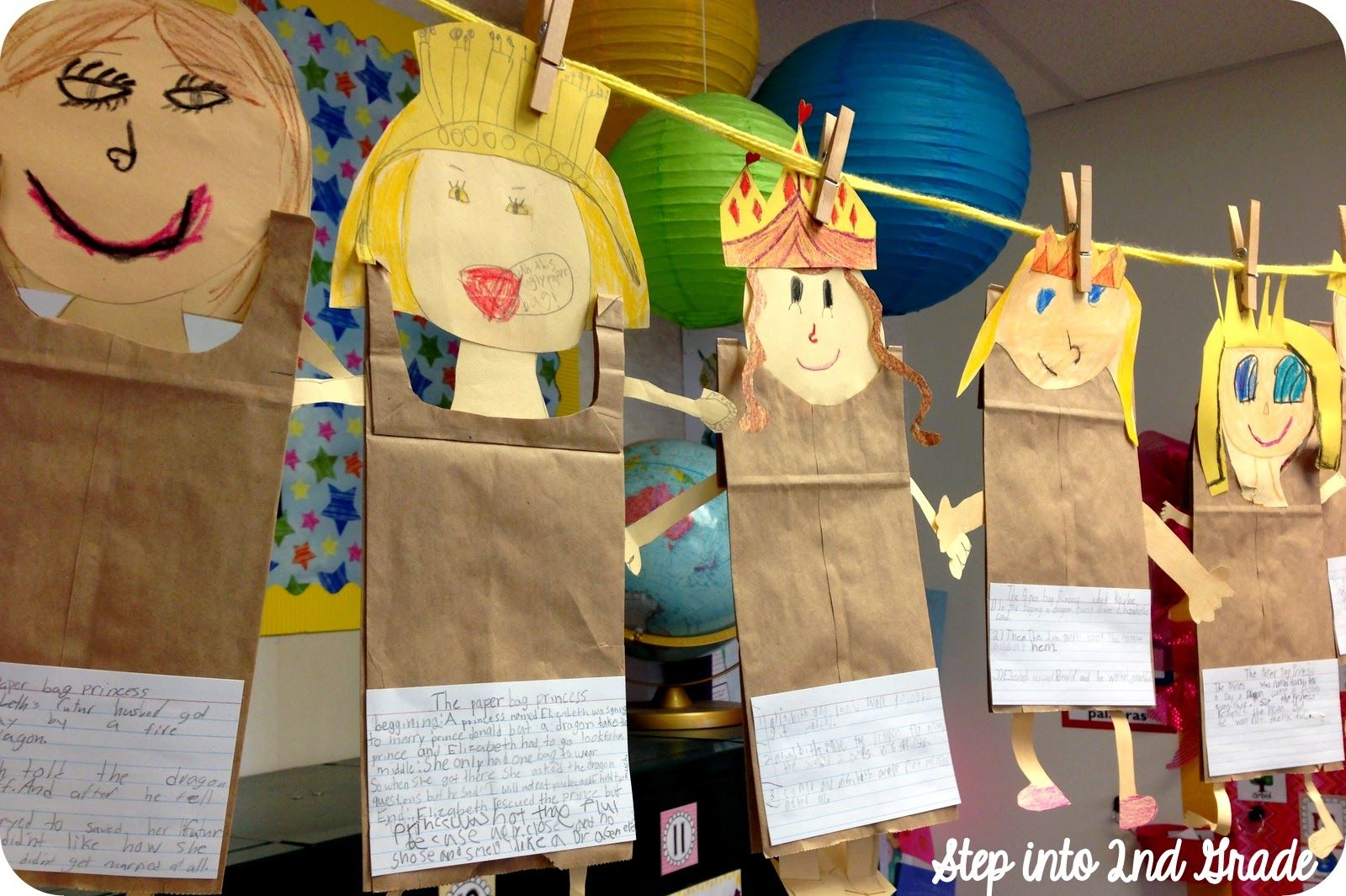 Step Into 2nd Grade With Mrs Lemons Paperbag Princess Summaries
