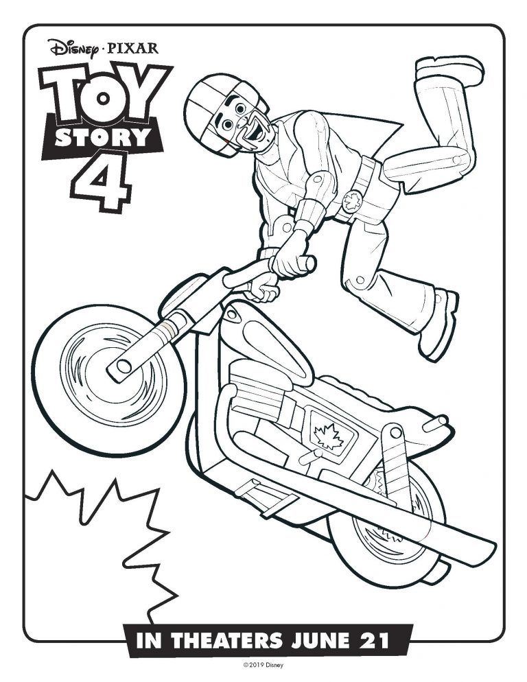 Free Disney Printable Toy Story 4 Recipes Activity Sheets