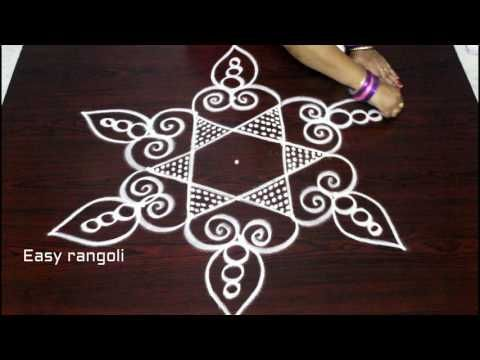 Easy And Latest Kolam Designs Simple Kolam Designs With Dots