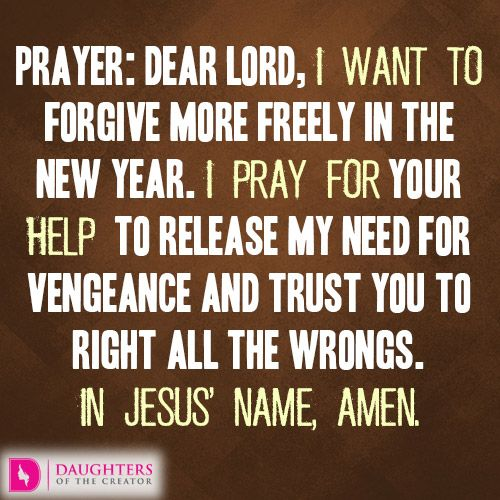Daily Devotional -New Year\'s Theme #4: Forgive more Freely: http ...