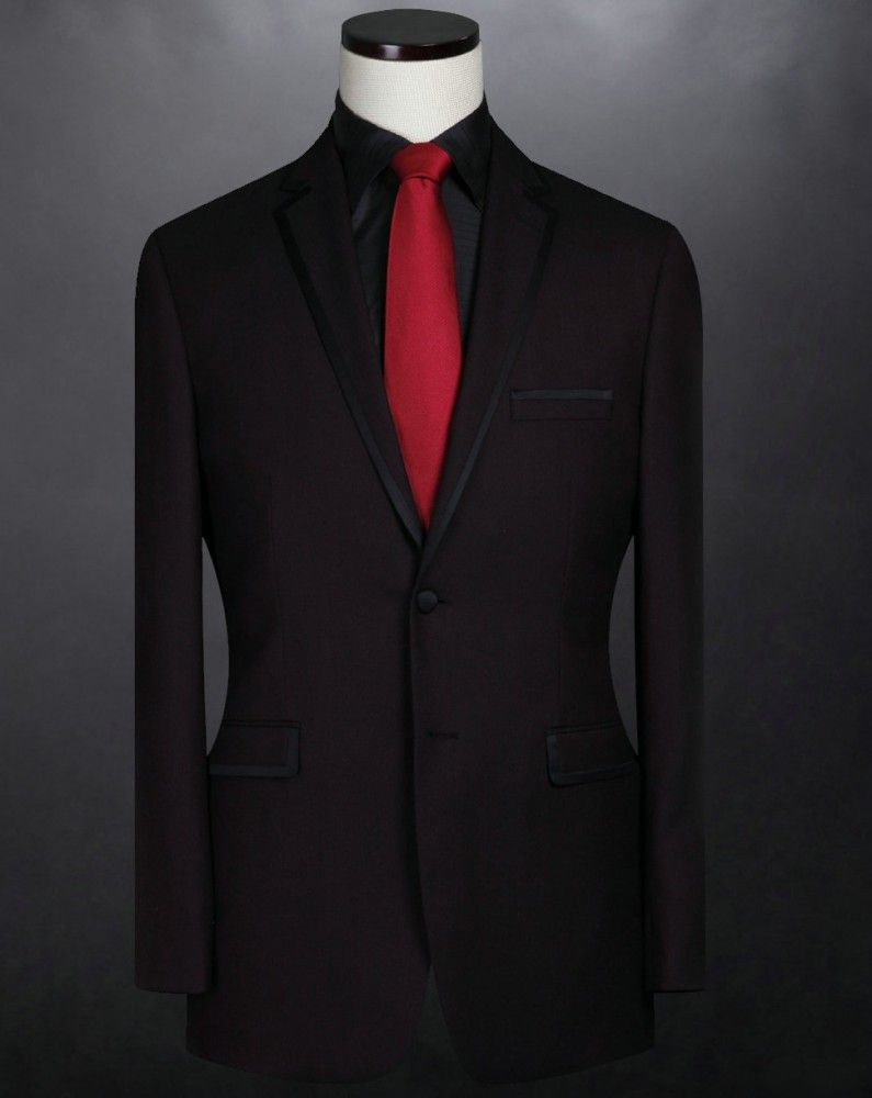 Notch Lapel Two Button Side Vented Wool Dark Red Wool Slim Suits For Wedding For Men 1 650x650px Jpg 795 1000 Dark Red Suit Red Prom Suit Mens Red Suit
