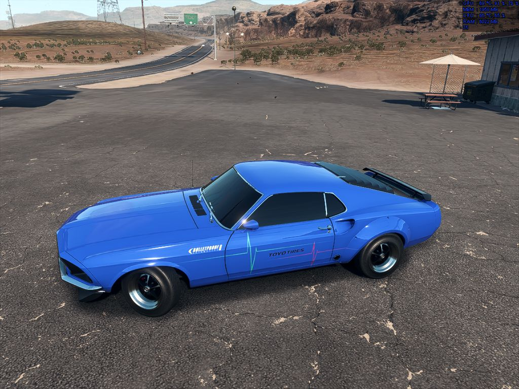 Need For Speed Payback 65 Mustang Derelict Parts Location Guide