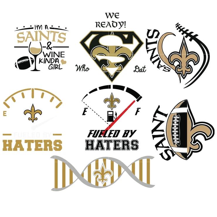 New Orleans Saints Logo Saints Svg Saints Eps Saints Dxf Saints Png Saints Printable Cute Poster Cricut Stencils New Orleans Saints Logo