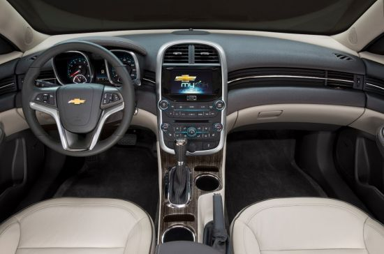 2015 Chevrolet Malibu Interior Clean And Modern Interior On The