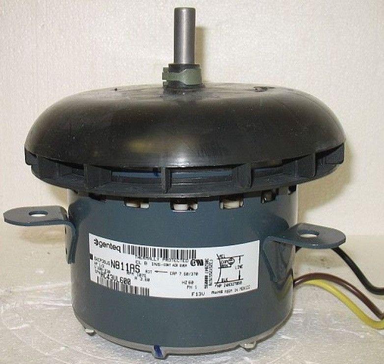 Hc43vl600 Carrier Bryant Payne Oem Condenser Fan Motor 1 2hp 1075rpm 208 230v Fan Motor Motor Oem