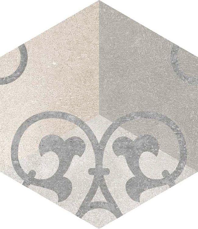 Rift hex gono kunashir 23x26 39 6cm pavimento porcel nico vives azulejos y gres s a - Azulejos pereda ...