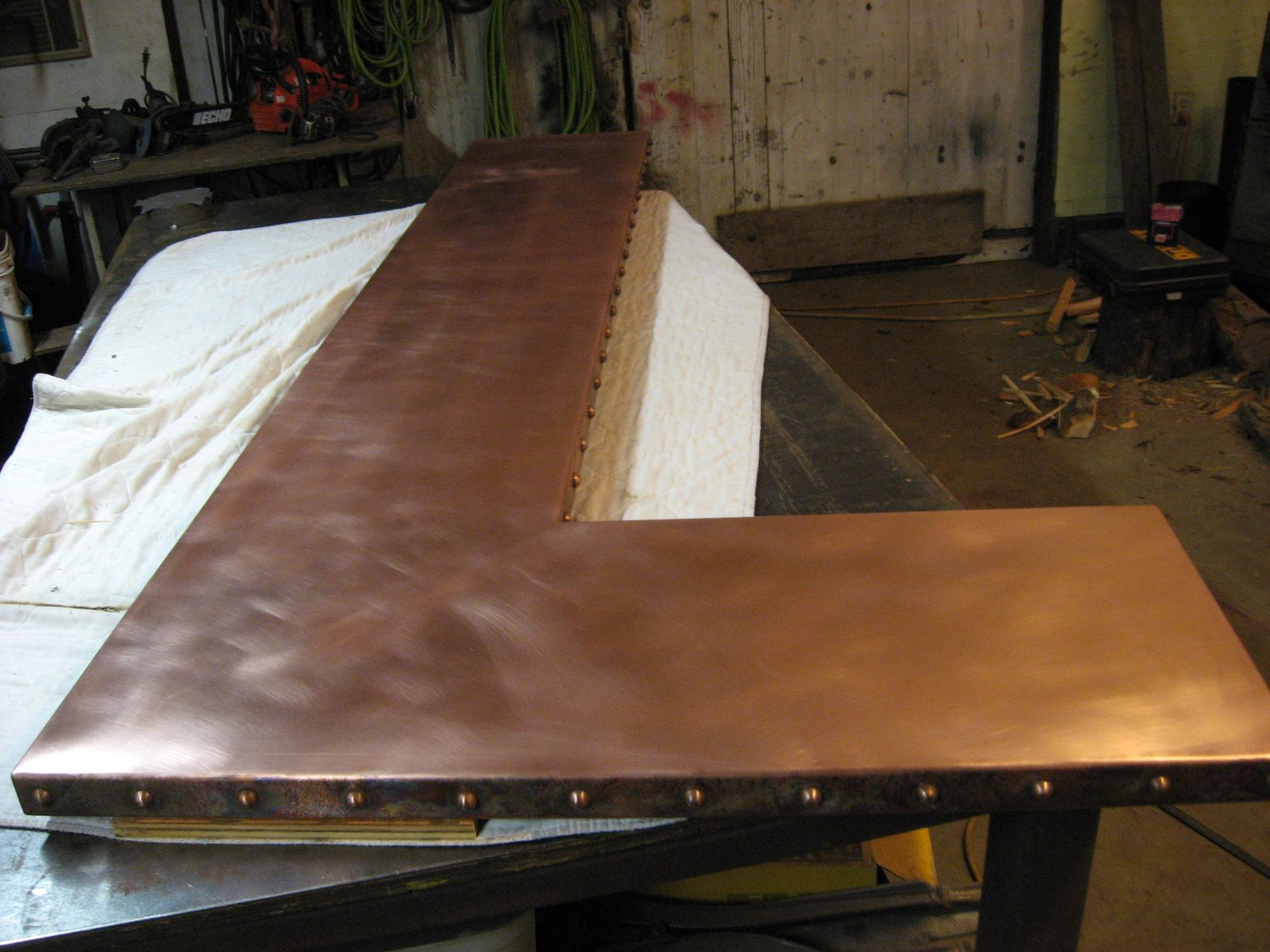 Copper top bar copper bar counter top ideas for the house copper top bar copper bar counter top watchthetrailerfo