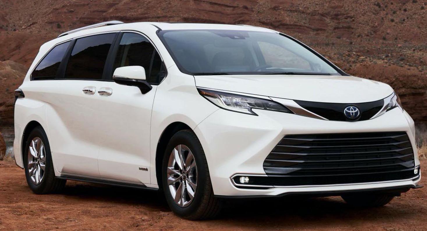 تويوتا سيينا 2021 الجديدة بالكامل الميني فان اليابانية الفاخرة بتصنيع أميركي موقع ويلز Toyota Sienna New Engine Toyota