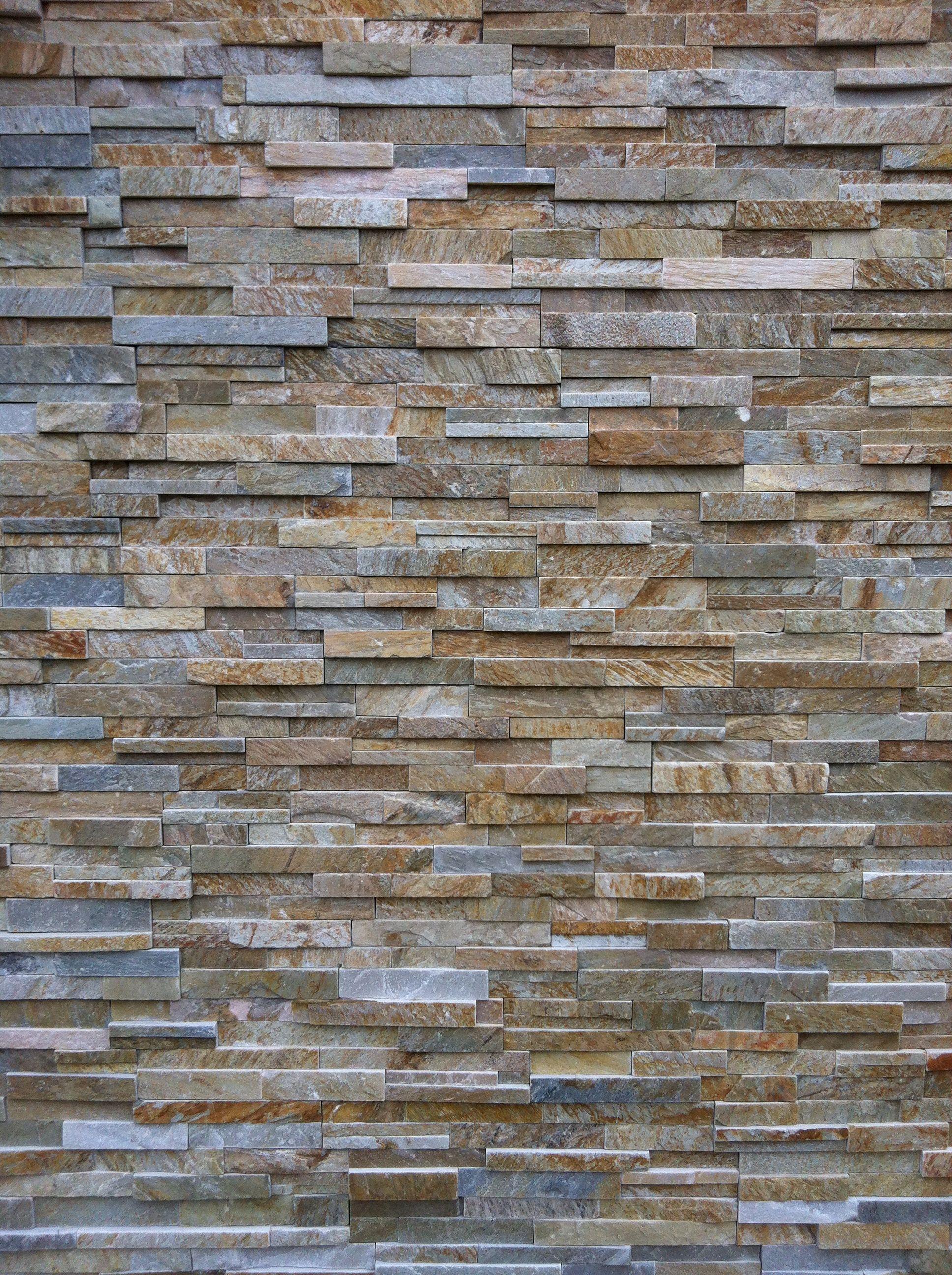 Natural Stone Veneers ǀ Faux Stone Siding ǀ Stone Veneer: Tan/Grey (more Contemporary Than
