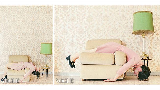 ilovegreeninspiration featured in vogue