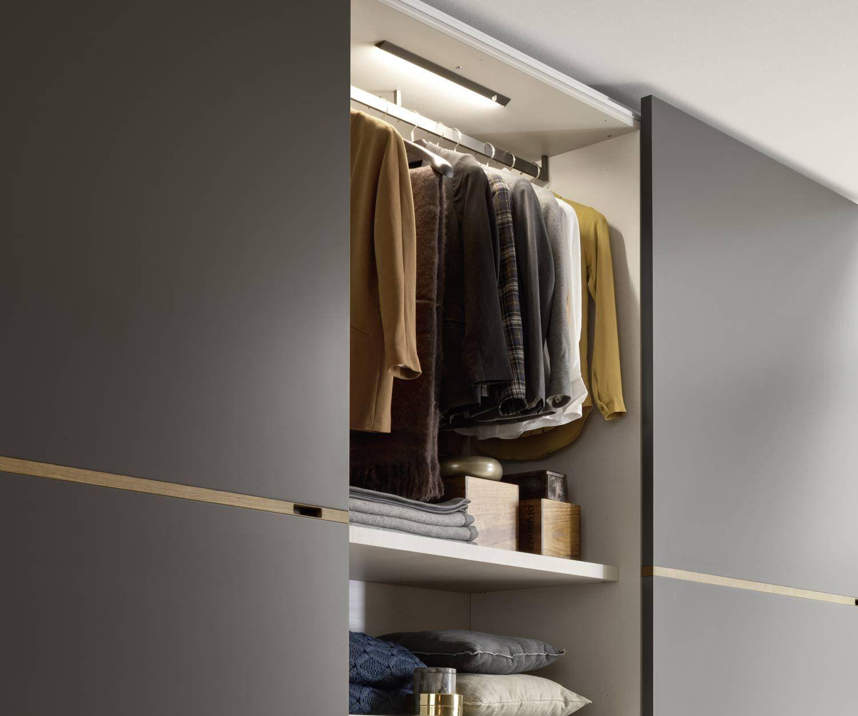 Novamobili Kleiderschrank Middle Schiebeturen Wardrobe Design