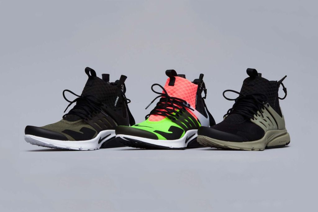 pretty nice d28fb 3df47 ACRONYM x NikeLab Air Presto Mid Collection Closer Look  HYPEBEAST