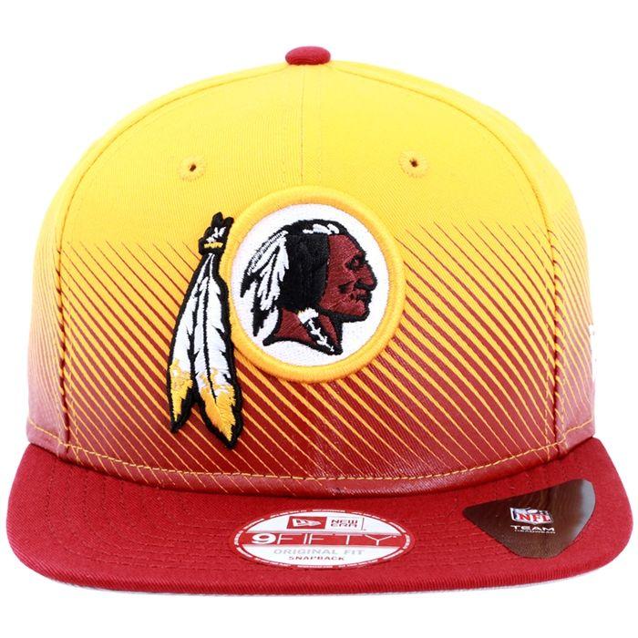 Boné New Era Washington Redskins Washington Redskins equipe profissional de  futebol americano da área de Washington D.C. que disputa a NFL. 97652719cd9