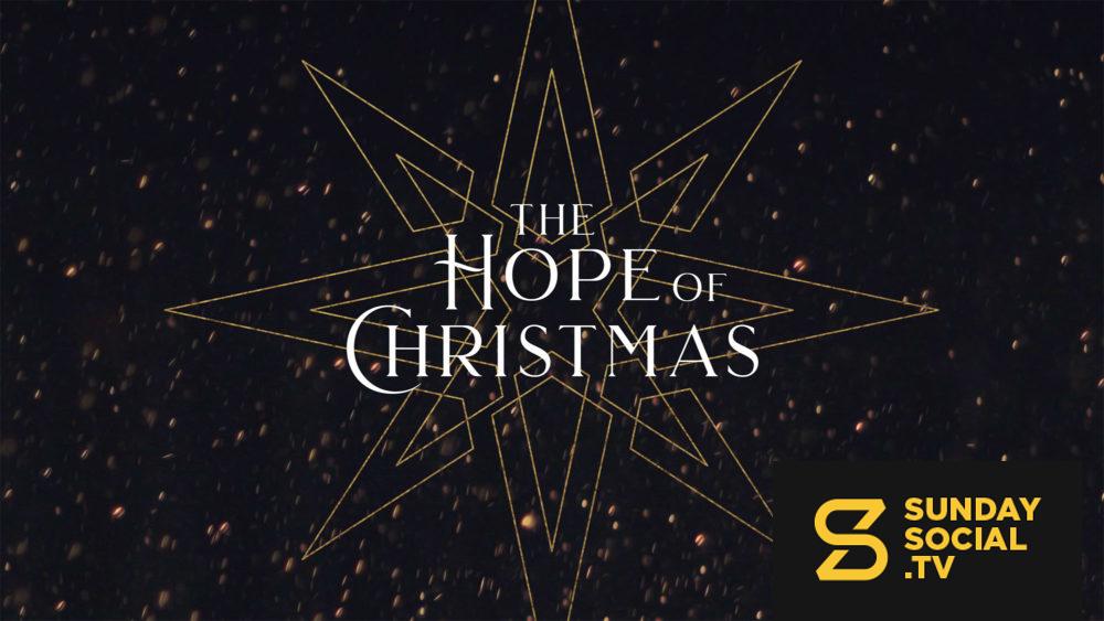 The Hope Of Christmas Sunday Social Christmas Sunday Christmas Fonts Christmas