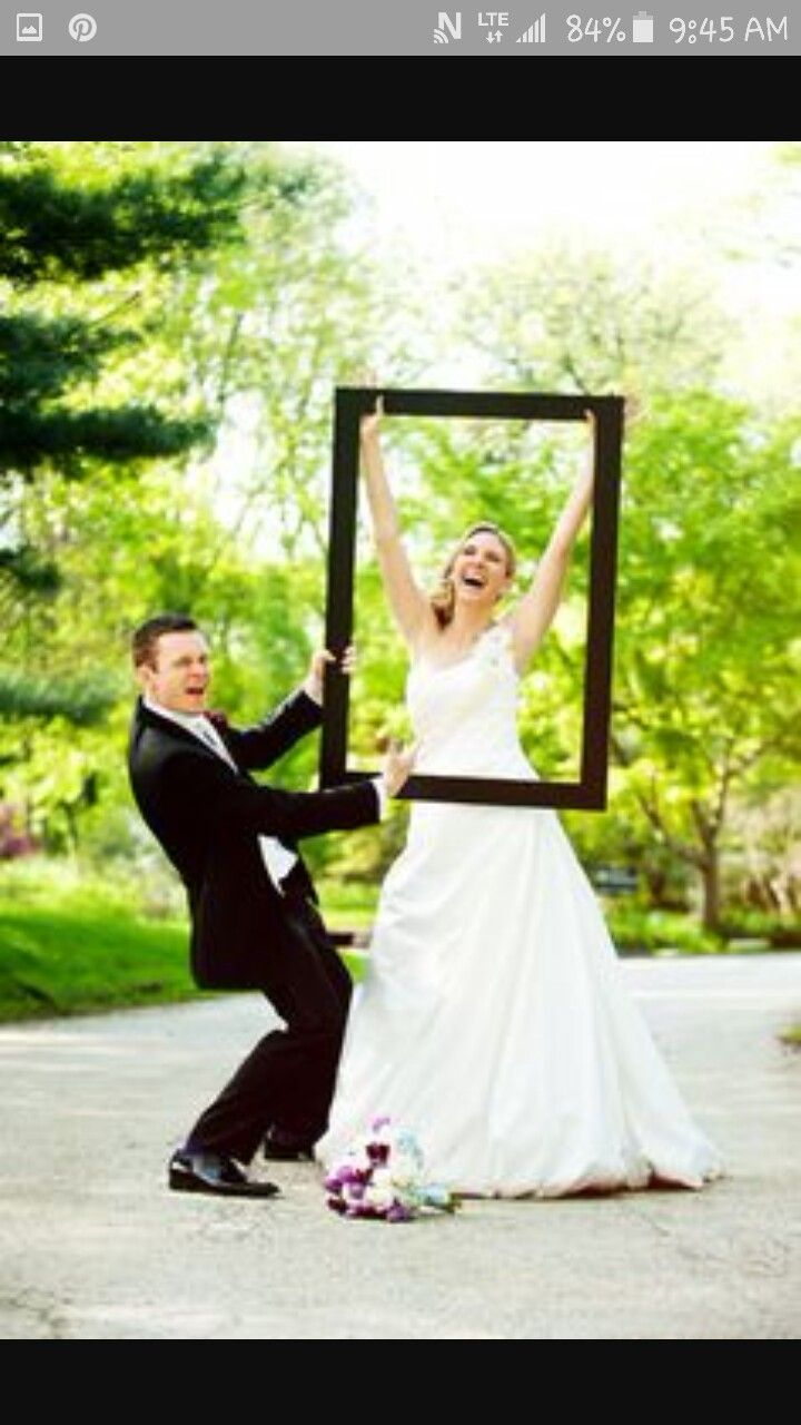 Hanging Frames At Reception To Frame Areas And Make Great Photos Of Little Scenes