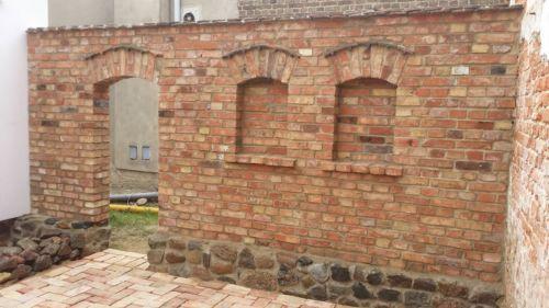 Ziegelsteine Im Reichsformat Alte Ziegelsteine Alte Backsteine Mauerziegel
