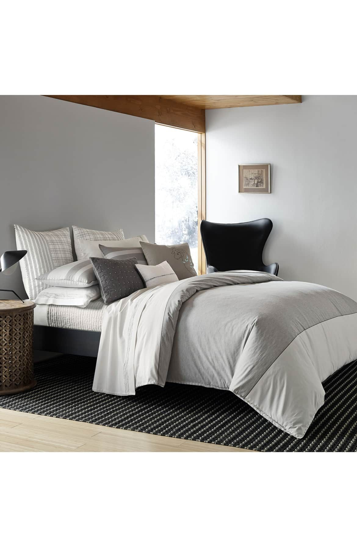 ED Ellen DeGeneres Greystone Duvet Cover Luxury bedding