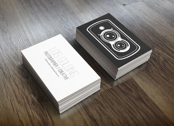 Creative Examples Of Photography Business Card Designs For