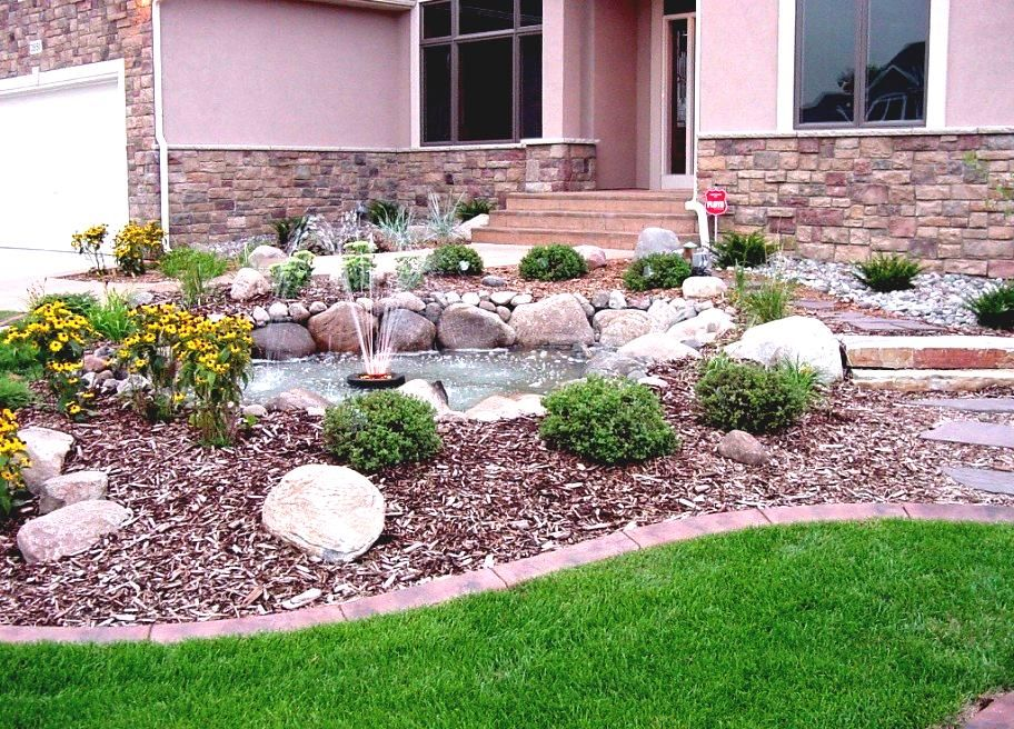 Amazing Low Maintenance Front Yard Landscape Ideas Part - 6: Low Maintenance Green Landscaping Ideas For Front Yard - FurniCool.co