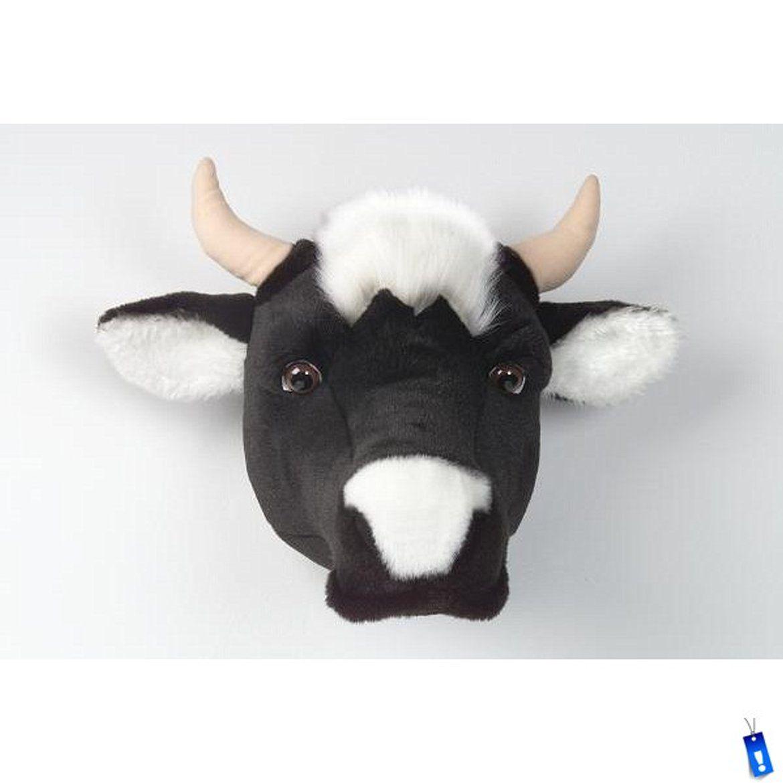 Bibib Dierenkop Pluche Koe Kopen Bij Mooiaandemuur Com Cow Head Decor Animal Heads Cow