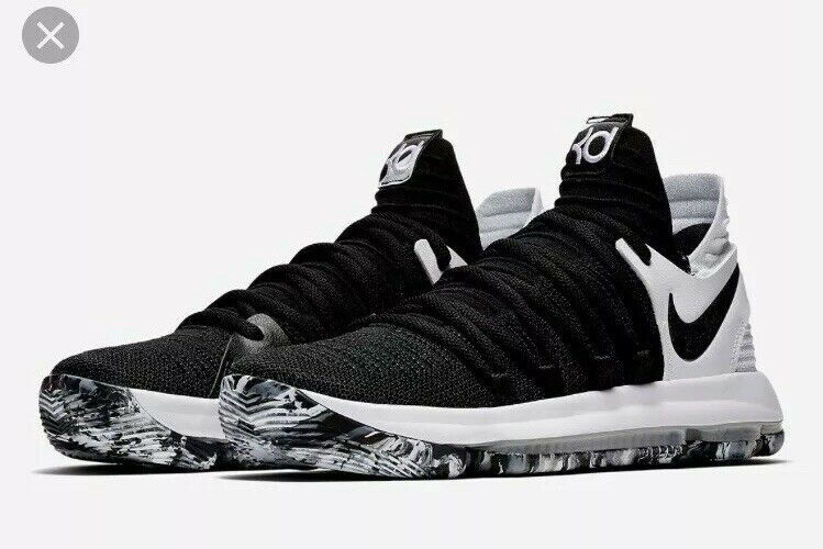 obtener golf Escupir  Nike KD 10 Playoffs Kids GS Youth 7Y(Wmns 8.5) Shoes Oreo White 918365 008  Rare #fashion #cl… | Girls basketball shoes, Kd basketball shoes, Womens  basketball shoes