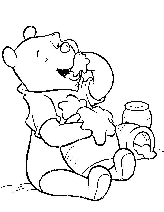 Pooh Friends Fill In The Dots Coloring The Pages Coloring