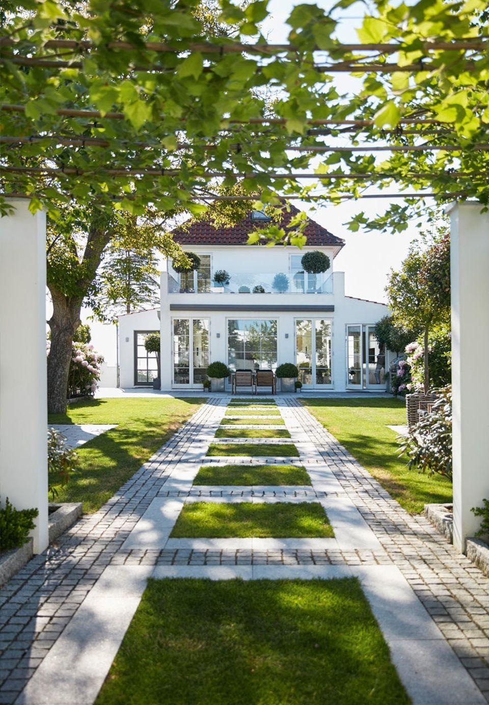 Drømmehus nord for København | Facade design, House facades and ...