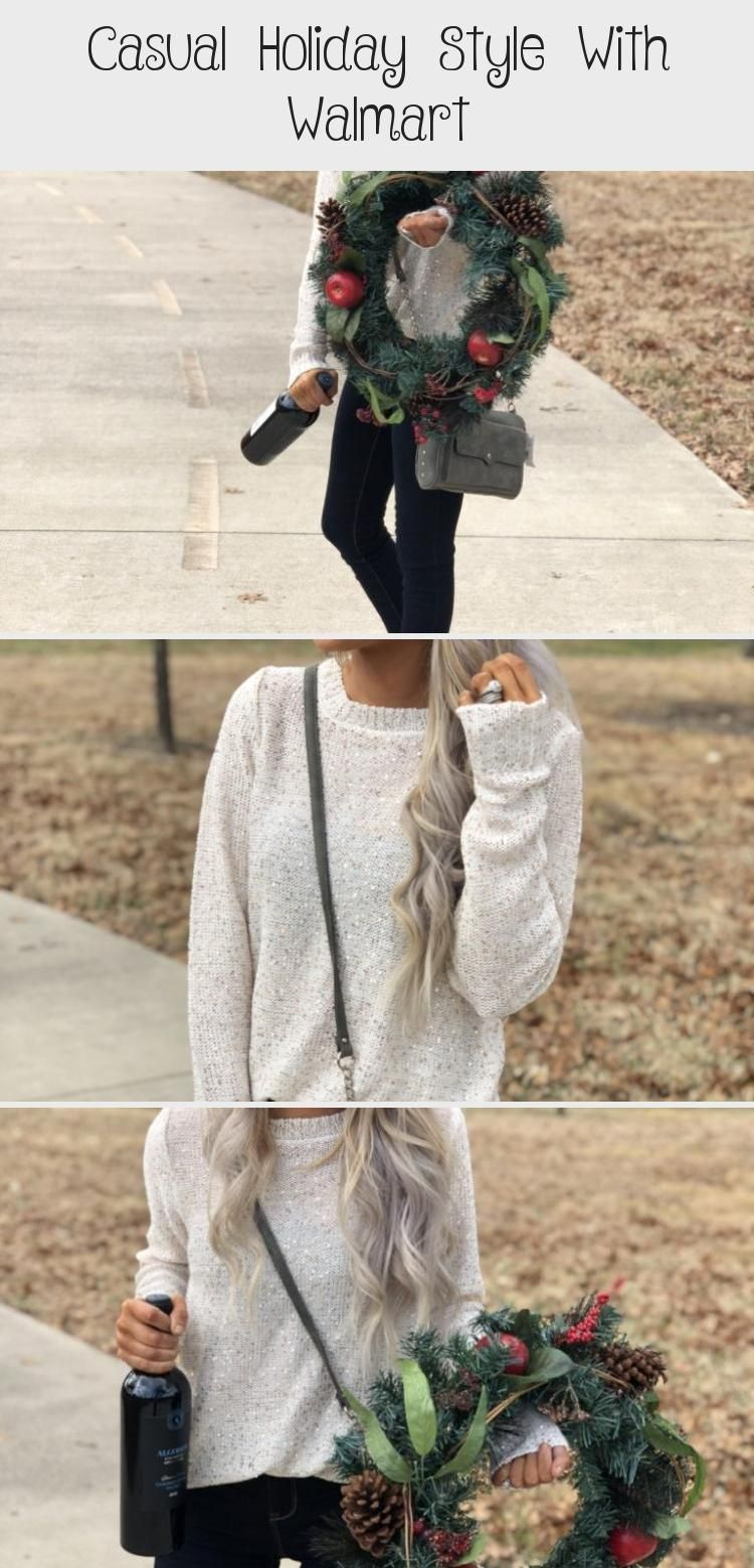 Casual Holiday Style With Walmart Dress Fashion In 2020 Casual Holiday Style Holiday Fashion Holiday Party Fashion