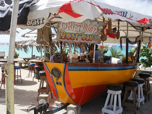Drift Wood Boat Bar St Maarten Places I Love In 2019