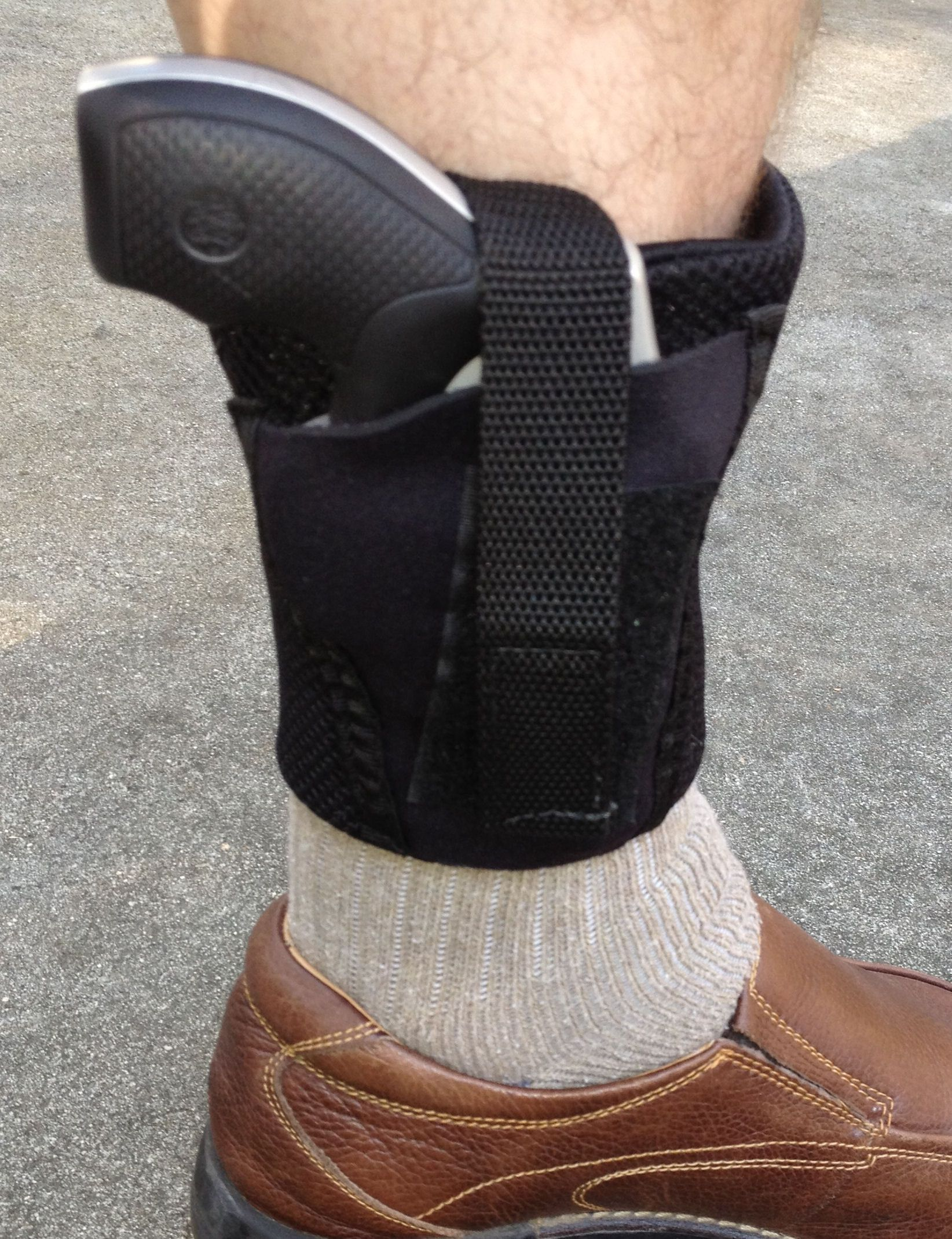 d751759afaea Comfort-Air Ankle Gun Holster   Telor Tactical  gunholster   Better ...