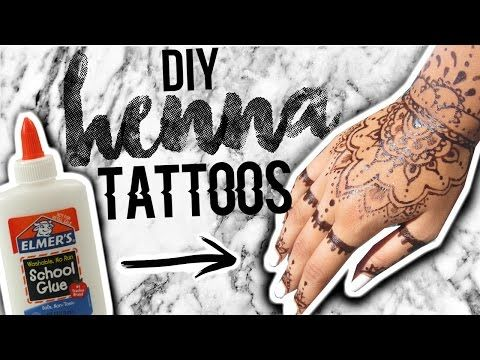 Diy Henna Tattoos Without Henna Powder Youtube Not The Most