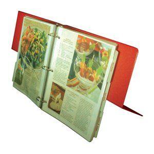 Amazon com: The Recipe Organizer Easel Binder: Kitchen & Dining