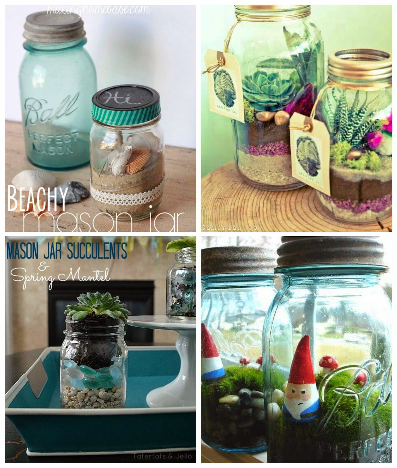 Home Design Ideas For Seniors: The World Around Her...: Fun And Creative Mason Jar Craft