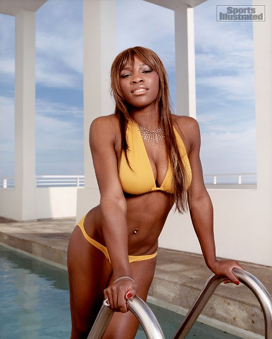 7e23ccab120 Serena Williams - Sports Illustrated Swimsuit 2004 Photographed by: Walter  Iooss Jr. Collection: athlete