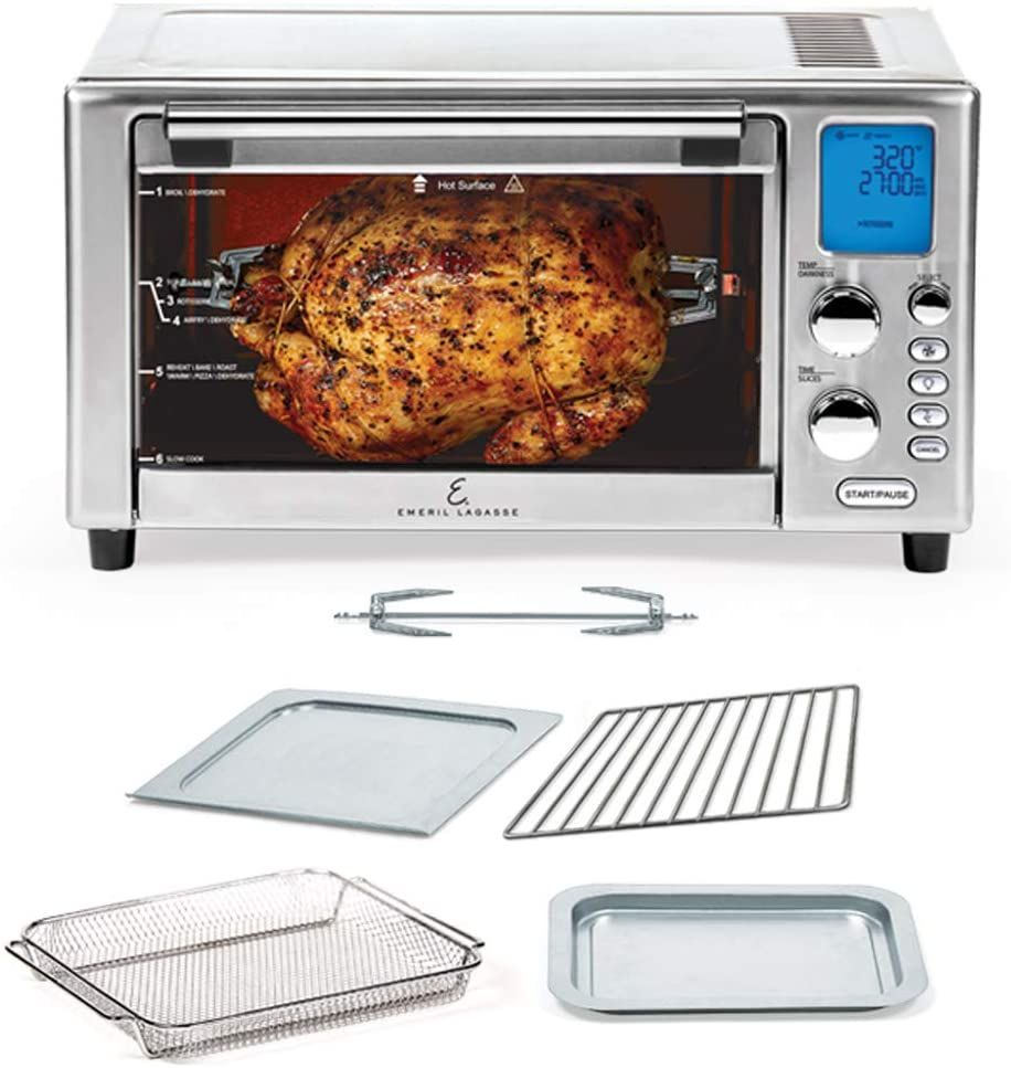 Best Small Toaster Oven 2021 Emeril Lagasse Power Air Fryer 360 Better Than Convection Ovens
