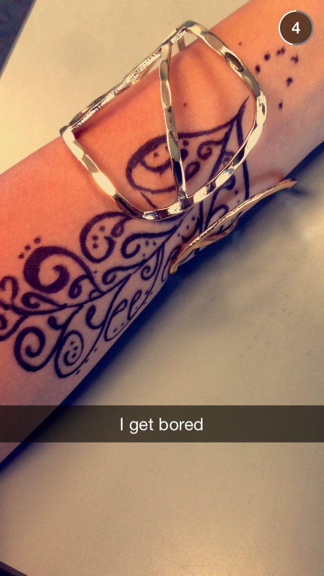 Henna design idea