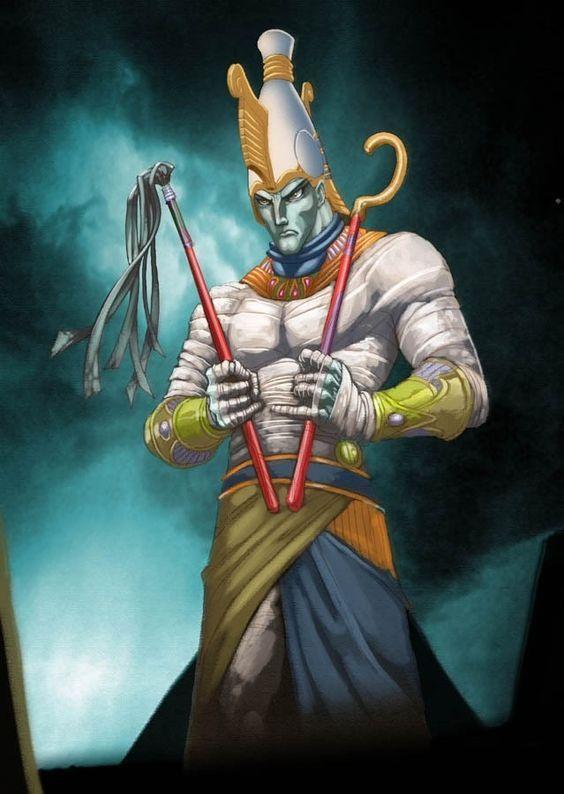 King Osiris, Broken God of the Afterlife | Egyptian