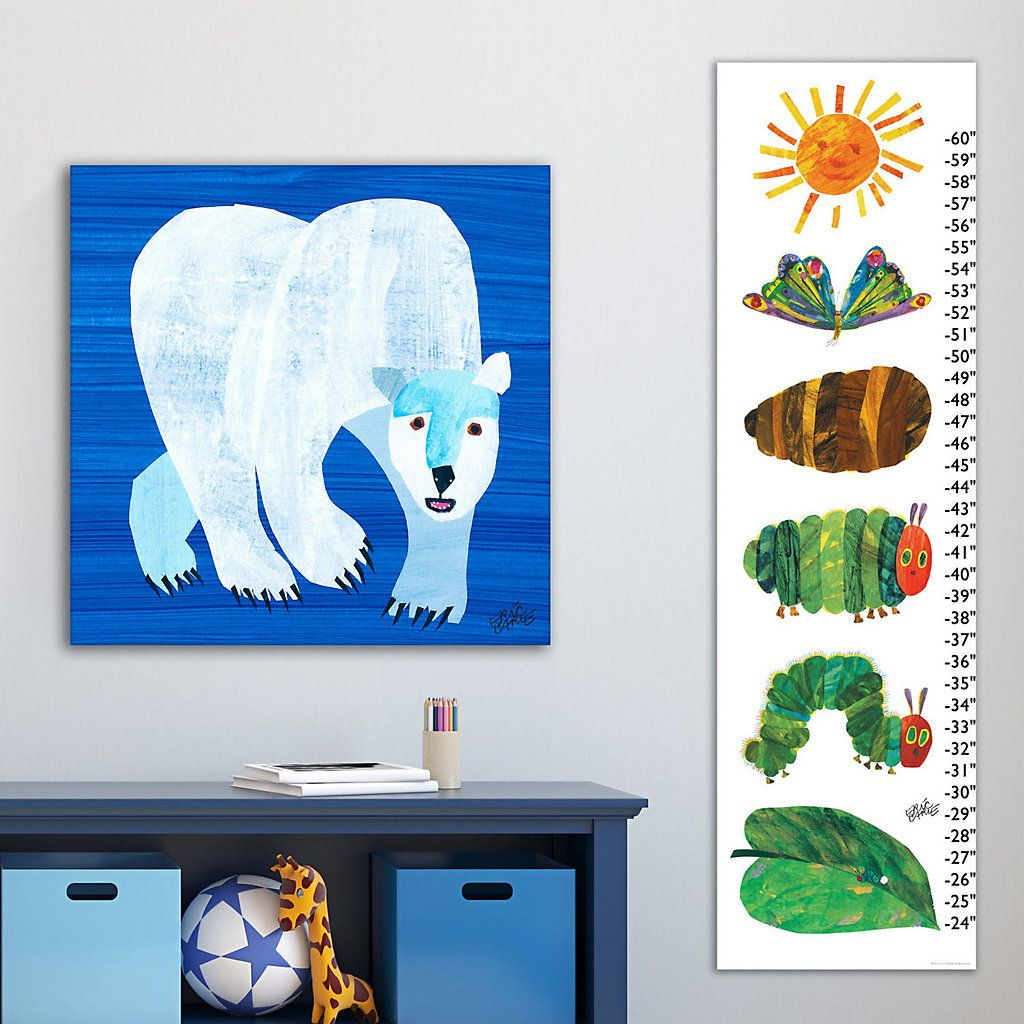 Marmont hill eric carle catapillar becomes butterfly wall growth marmont hill eric carle catapillar becomes butterfly wall growth chart nvjuhfo Choice Image