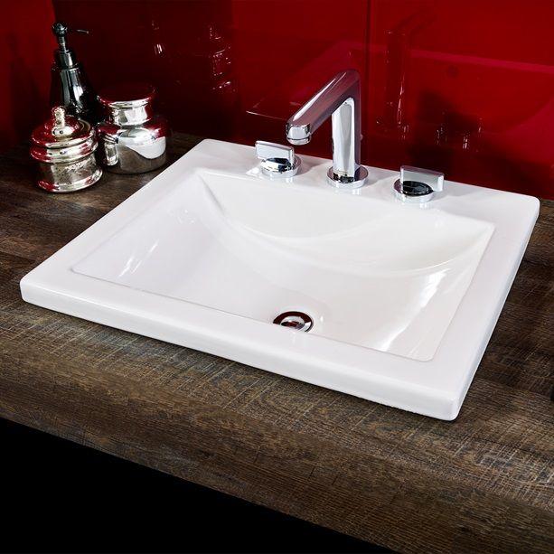 Guest Bath Master Bath Bathroom Sinks Studio Drop In Sink