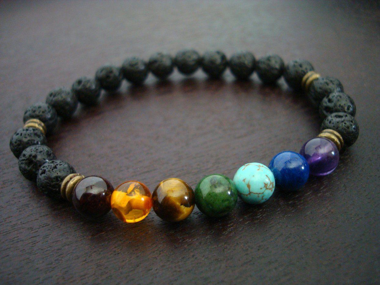 औ th element yoga menus lava rock chakra mala bracelet what