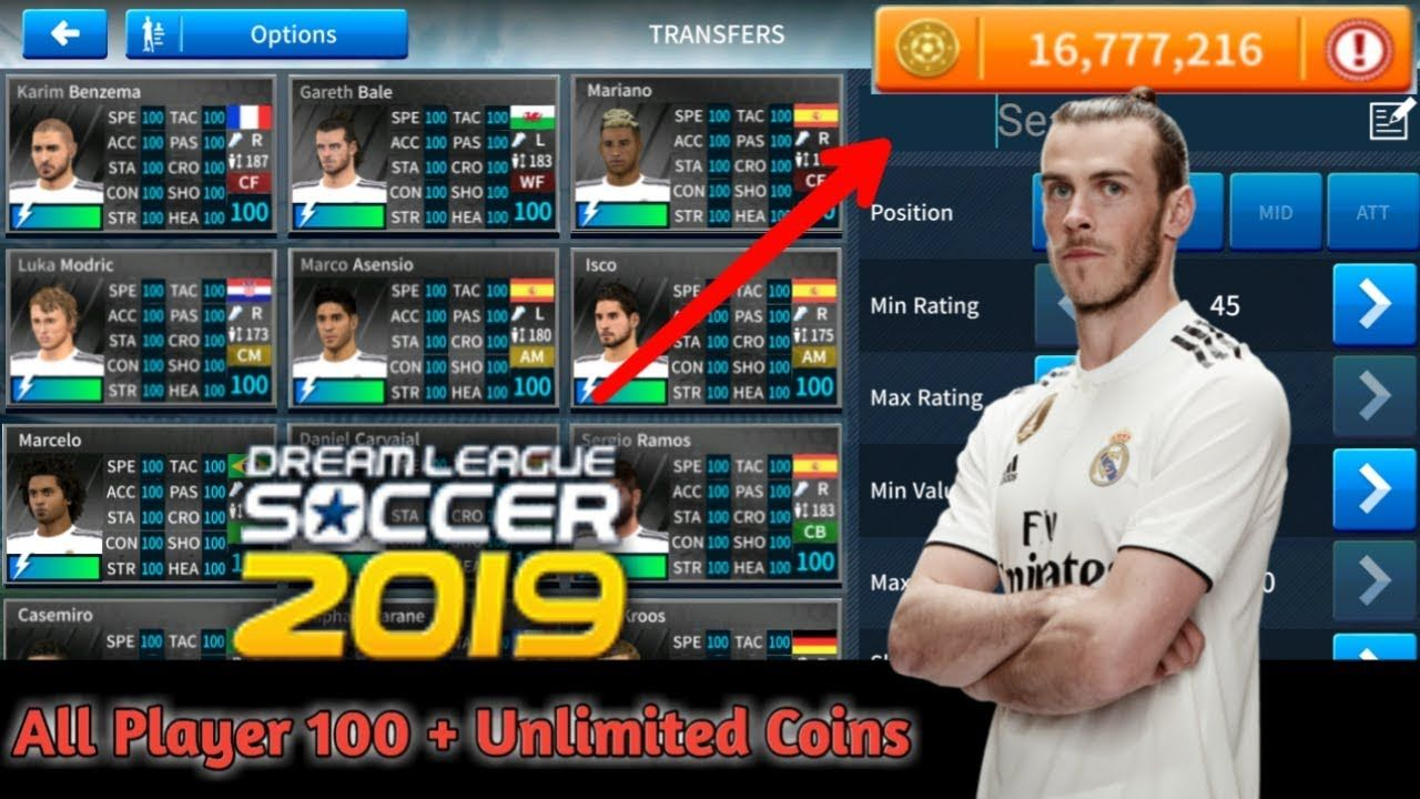 Dream League Soccer 2019 Hack How To Get Unlimited Coins No Survey No Verification Apk Download Dream Leag Game Resources First Video Game Game Download Free
