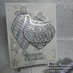 Delicate Ornament by stamperdianne - Cards and Paper Crafts at Splitcoaststampers