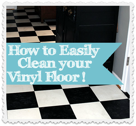 diy my secret tip for easily cleaning vinyl floors you ll be rh pinterest com
