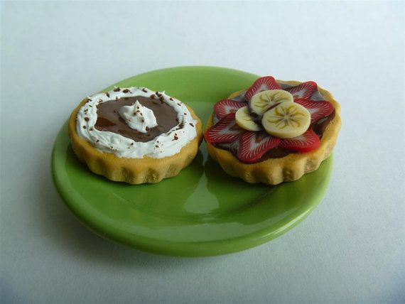 American Girl Doll Food/ Two Tarts/ 18 inch doll food on Etsy, $8.00