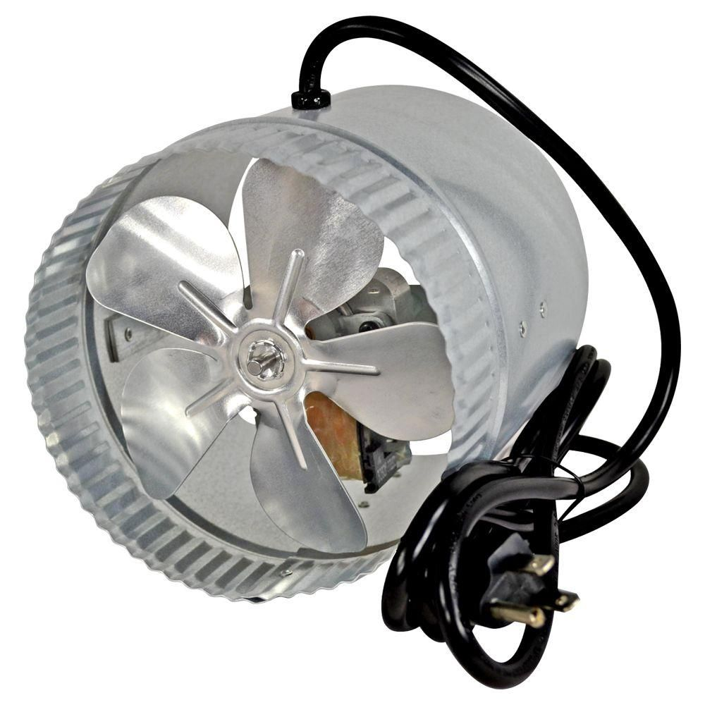 Suncourt 6 In Corded Duct Fan With More Powerful Motor Db6gtc Fan Electronic Recycling Energy Efficiency