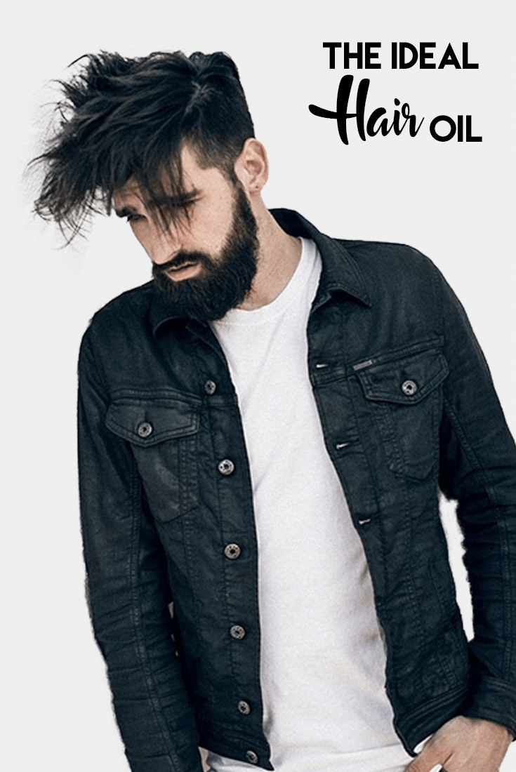 Know about the ideal hair oil menshairstyles dapperhaircuts man